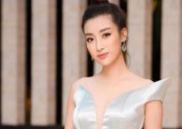 Hoa hậu Đỗ Mỹ Linh mê hoặc với tóc búi cao đầy thần thái