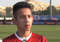 Nguyễn Phong Hồng Duy tuyên bố 'sốc' trên trang chủ Asian Cup 2019