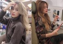 Chỉ trong vài ngày, Hoàng Thùy Linh đã 3 lần f5 mái tóc để chuẩn bị đón Tết Kỷ Hợi