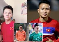 'Bản sao' đời thường cầu thủ Việt: Quang Hải giống bác trung niên, Văn Lâm hóa anh thợ điện