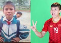 Thử thách 10 năm của hội hot cầu thủ: Ai cũng thay đổi nhưng em út Văn Hậu dậy thì thành công nhất!