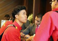 Tới Dubai, các tuyển thủ Việt Nam tinh thần đầy hứng khởi