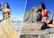 Diện bikini leo núi, 'người đẹp 2 mảnh' nổi tiếng Đài Loan bị đóng băng đến chết