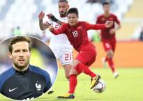 Cựu tuyển thủ Pháp gốc Việt nhắn tin hẹn gặp riêng Quang Hải ở tứ kết Asian Cup 2019