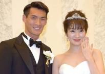 Tuyển thủ Nhật Bản được vợ xinh đẹp động viên trước trận gặp Việt Nam