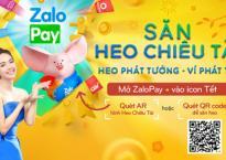 Minh Hằng trở thành đại sứ thương hiệu của Zalopay trong chương trình 'Săn heo chiêu tài Tết 2019'