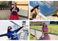 Hoa hậu Tường Linh khoe album ảnh mỗi tháng đi 1 nước trong năm 2018