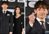 Bỏ Kim Tae Hee ở nhà, Bi Rain sánh đôi với tình cũ gợi cảm của Hyun Bin