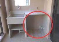 Nhờ đặt bồn rửa trên ban công mà hóa đơn tiền điện hàng xóm chỉ bằng một nửa nhà tôi