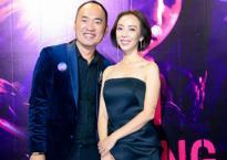 Thu Trang khoe vai trần gợi cảm, cùng ông xã Tiến Luật đến ủng hộ Ngô Thanh Vân
