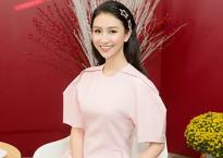 Á hậu Hà Thu: 'Tôi thích áp lực của người nổi tiếng'