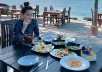 Hà Hồ 'ăn như chết đói' sau chuỗi ngày detox thải độc cơ thể
