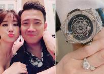 Sau khi 'vặt' của Trấn Thành 230 triệu đồng, Hari Won tặng lại chồng quà kỷ niệm cưới hơn nửa tỷ