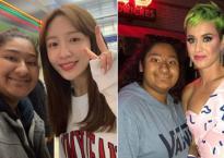 Fan girl 'may mắn nhất hệ mặt trời' khi được chụp chung với nhiều người nổi tiếng từ Đông sang Tây