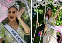 Hoa hậu Hoàn vũ thế giới 2018 Catriona Gray được hàng triệu người dân Philippines xuống đường chào đón trong ngày về nước