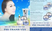 Phi Thanh Vân tung loạt sản phẩm siêu trắng da cực 'hot'