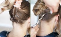 Cách búi tóc thú vị cho ngày nắng nóng chỉ với kim chỉ