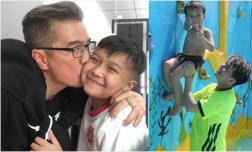 Mr Đàm đăng loạt ảnh kỷ niệm mừng sinh nhật chàng trai anh yêu nhất trên đời