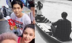 Mới bị bắt gặp đi du lịch cùng Trương Quỳnh Anh, Tim đã đăng ảnh với cô gái lạ và phũ với vợ cũ
