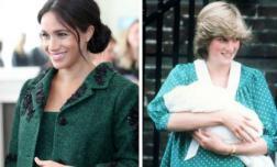 Biết được sự thật đau đớn mà Công nương Diana phải trải qua, Meghan dứt khoát phá vỡ truyền thống Hoàng gia Anh về chuyện sinh nở