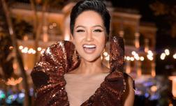 Hoa hậu H'Hen Niê bất ngờ diện lại chiếc đầm gây tranh cãi ở Miss Universe 2018