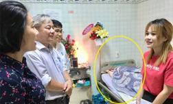 Lý do được ban văn nghệ thành uỷ vào thăm, nghệ sĩ Lê Bình vẫn trùm chăn