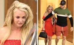 """""""Công chúa nhạc pop"""" Britney Spears xuất hiện tàn tạ sau quá trình đi điều trị tâm thần"""