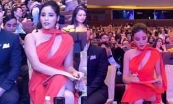 Hoa hậu Kỳ Duyên gây choáng khi lộ body phát tướng tay cơ bắp khác hẳn ảnh nuột nà vốn thấy