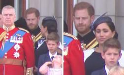 Khoảnh khắc Meghan nhìn như sắp khóc khi bị chồng 'chỉ đạo' vì không nắm được quy tắc Hoàng gia dù đã làm dâu hơn 1 năm