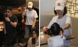 Lâm Tâm Như và Hoắc Kiến Hoa đưa con gái đi ăn, dân mạng nức nở khen bé Cá heo nhỏ dễ cưng