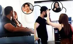 HOT: Mỹ Tâm nựng má Mai Tài Phến trên máy bay, liệu đang bí mật hẹn hò?