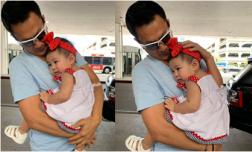 Khoảnh khắc xúc động khi con gái Thanh Thảo gặp lại ba sau 2 tuần xa cách khiến dân mạng 'tan chảy'