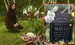 Tròn 3 năm ngày mất cố nhạc sĩ Trần Lập, bà xã Mai Hoa đến viếng và viết tâm thư xúc động
