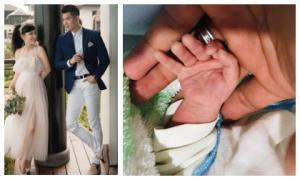 Chưa đầy 1 năm kết hôn cùng vợ đại gia, Trương Nam Thành đón hẳn cặp 'heo vàng'