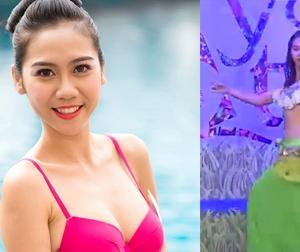'Phát sốt' với màn múa bụng của thí sinh Mẫu và tài năng Việt Nam 2015