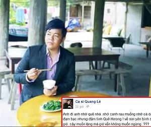 Quang Lê: 'Cây muốn lặng mà gió vẫn không muốn ngừng'
