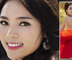 Hoa hậu Kỳ Duyên tươi rói sau scandal