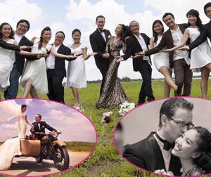 Hậu trường ảnh cưới giờ mới công bố của Đoan Trang