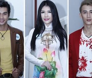 Thí sinh 'Mẫu và Tài năng Việt Nam 2015' ăn vận thời trang đến casting