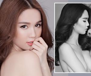 6 bức ảnh bán nude đẹp 'khó cưỡng' của Ngọc Trinh