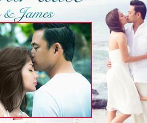 Cựu mẫu Ngọc Thúy liên tục hé lộ ảnh cưới 'đẹp như mơ'