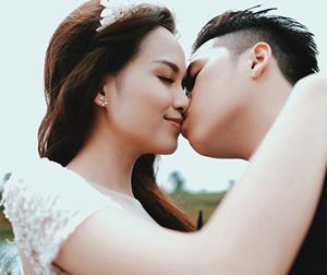 Ảnh cưới đẹp lung linh của Hoa hậu Diễm Hương và chồng ở Đà Lạt