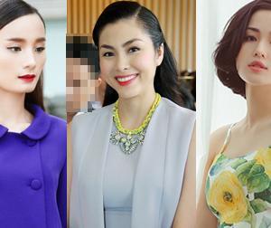 Mỹ nhân Việt may mắn được gia đình nhà chồng 'cưng nựng'