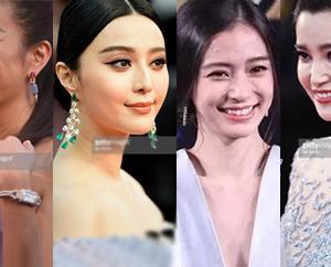 'Bóc trần' khuôn mặt của loạt mỹ nhân Hoa ngữ khi chưa photoshop