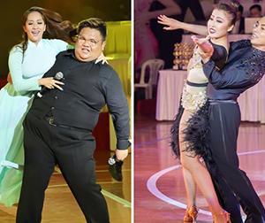 Phan Hiển - Khánh Thi 'đánh lẻ' không khiêu vũ cùng nhau