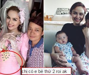 Nghi vấn Hoa hậu Diễm Hương đã bí mật sinh con thứ hai