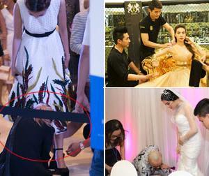 Ghen tỵ với những khoảnh khắc sao Việt được chăm sóc như 'nữ hoàng'
