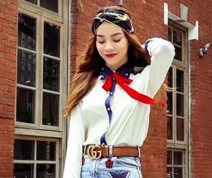 Hồ Ngọc Hà hóa thiếu nữ đôi mươi dự tiệc cùng các biên viên thời trang danh tiếng