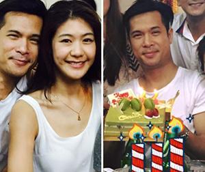 Trương Thế Vinh đón tuổi 32 cùng bà xã cơ trưởng trước ngày cưới