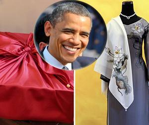 Tiết lộ món quà Tổng thống Barack Obama mang về Mỹ tặng vợ